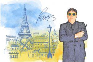 Izzy in Paris